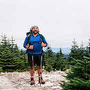 Craig on the summit of Old Speck Mountain - one of Maine's 4,000 footers
