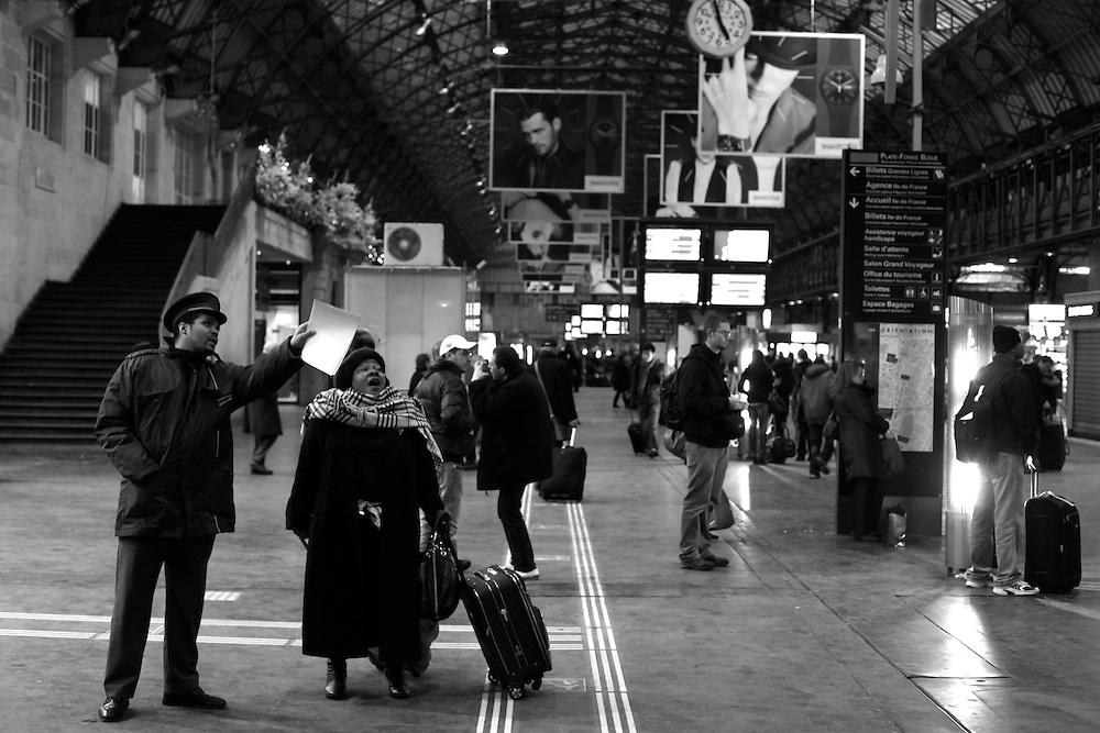 Gare de l'Est direction, Paris