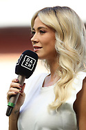 Diletta Leotta DAZN Tv Presenter pictured during the Serie A match at Giuseppe Meazza, Milan. Picture date: 28th June 2020. Picture credit should read: Jonathan Moscrop/Sportimage
