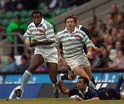2005 Varsity Rugby Match,Cambridge's Joseph Ansbro, breaks through  Oxfords Jonan Boto's tackles to set up a Cambridge attack at the Varsity match,   Oxford vs Cambridge, 06.12.2005 at RFU Stadium Twickenham, ENGLAND   © Peter Spurrier/Intersport Images - email images@intersport-images..