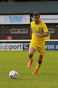 AFC Wimbledon midfielder Tom Beere (16) during the Pre-Season Friendly match between Dover Athletic and AFC Wimbledon at Crabble Athletic Ground, Dover, United Kingdom on 12 July 2016. Photo by Stuart Butcher.