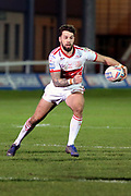 Hull Kingston Rovers full back Will Dagger (19) with ball in hand during the Betfred Super League match between Hull Kingston Rovers and Huddersfield Giants at the Hull College Craven Park  Stadium, Hull, United Kingdom on 21 February 2020.