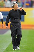 Iowa Hawkeyes head coach Kirk Ferentz during the LSU Tigers 21-14 win over the Hawkeyes in the 2014 Outback Bowl at Raymond James Stadium on January 1, 2014 in Tampa, Florida.                                  <br /> <br /> ©2014 Scott A. Miller