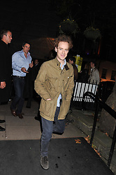TOM INSKIP at a party to celebrate the launch of the new 2&8 club at Morton's Berkeley Square, London on 27th September 2012.