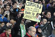 Barcelona versus Cordoba 10.01.13