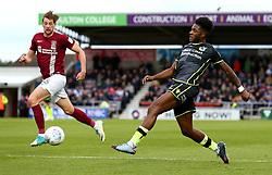 Ellis Harrison of Bristol Rovers passes the ball - Mandatory by-line: Robbie Stephenson/JMP - 07/10/2017 - FOOTBALL - Sixfields Stadium - Northampton, England - Northampton Town v Bristol Rovers - Sky Bet League One