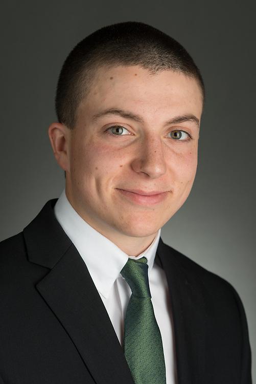 Cutler Scholar Candidate Logan Adams.  Photo by Ohio University / Jonathan Adams