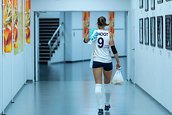 19-10-2018 JPN: Semi Final World Championship Volleyball Women day 20, Yokohama<br /> Serbia - Netherlands / Myrthe Schoot #9 of Netherlands