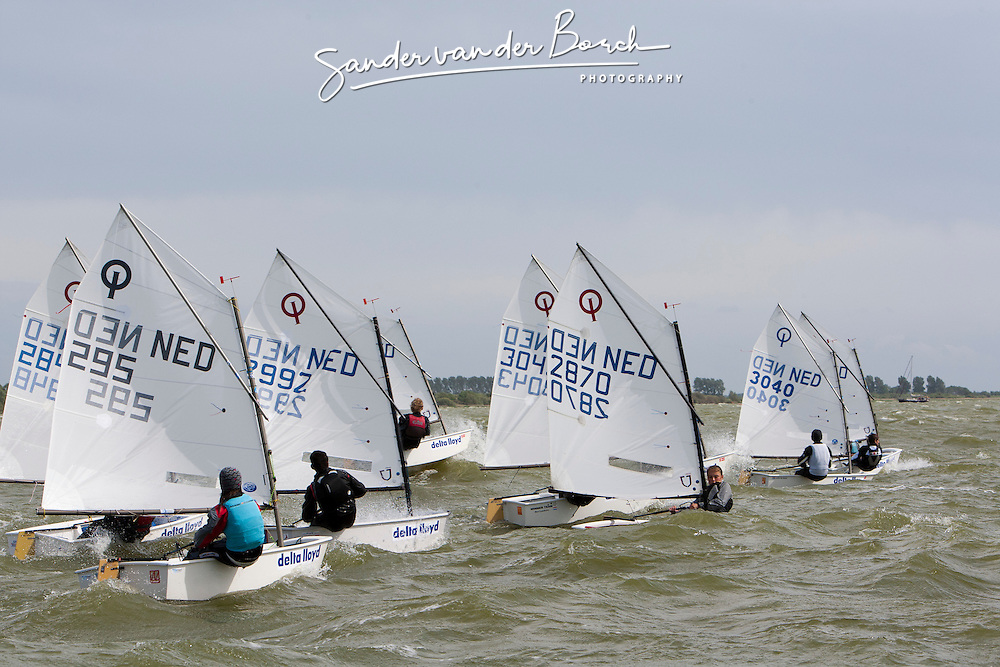 OCN-CLINIC, Workum (20-23 May). Optimist Clinic for dutch optimist sailors with Gonzalo Pollitzer (Bocha) en Manuel Resano (Manny) organized by the Optimist Club Nederland (OCN)  © Sander van der Borch.