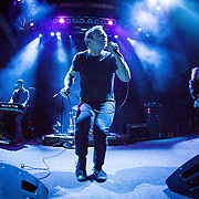 Future Islands performing at 930 Club on 05/01/2014