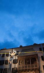 30.05.2015, Altstadt, Innsbruck, AUT, Golden Roof Challenge, Stabhochsprung Maenner, im Bild Jerome Clavier (FRA) // Jerome Clavier of France in action during Men´s Pole Vault at Golden Roof Challenge in Innsbruck, Austria on 2015/05/30. EXPA Pictures © 2015, PhotoCredit: EXPA/ Jakob Gruber