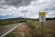 "On the outskirts of the village of Sansol, in the Spanish region of Navarre, the Camino de Santiago passes a distance marker that reads ""1 way to Santiago"". The Camino de Santiago, known in English as the Way of Saint James among other names, is a network of pilgrims' ways leading to the shrine of the apostle James in Santiago de Compostela, Galicia, Spain."