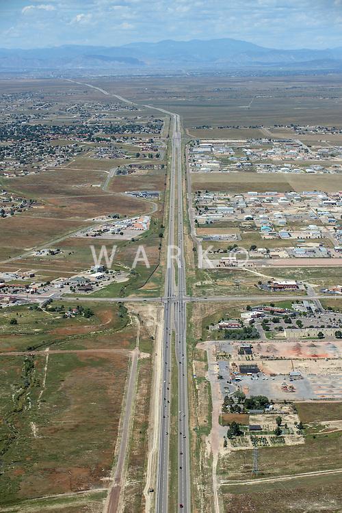 Highway 50; Pueblo West, Colorado. Sept 1, 2015