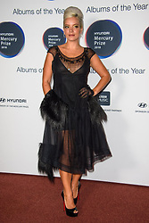 Lily Allen attending 2018 Hyundai Mercury Music Prize, held at the Eventim Apollo, London. For editorial use in the context of the 2018 Hyundai Mercury Prize only. Picture date: Thursday September 20th, 2018. Photo credit should read: Matt Crossick/ EMPICS Entertainment.