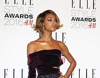 Jourdan Dunn, ELLE Style Awards 2016, Millbank London UK, 23 February 2016, Photo by Richard Goldschmidt