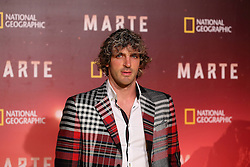 November 8, 2016 - Roma, RM, Italy - Italian rugby player Mirco Bergamasco during Red Carpet of the premier of Mars, the largest production ever made by National Geographic  (Credit Image: © Matteo Nardone/Pacific Press via ZUMA Wire)