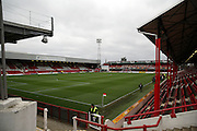 Griffin Park during the Sky Bet Championship match between Brentford and Milton Keynes Dons at Griffin Park, London, England on 5 December 2015. Photo by Matthew Redman.