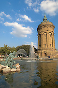 Mannheim, Water Tower