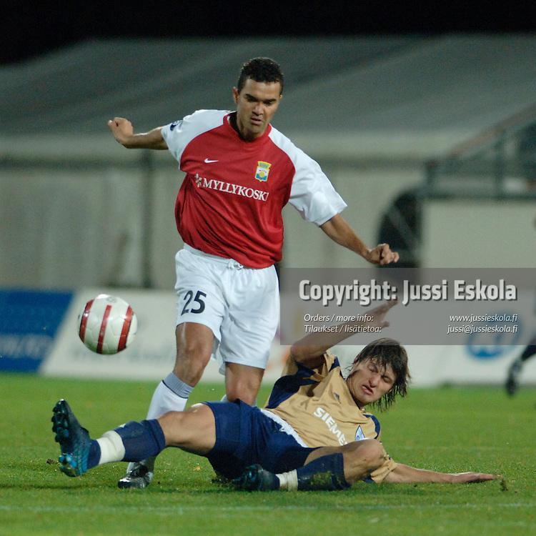 Marco Manso, MyPa.&amp;#xA;2005.&amp;#xA;Uefa-cupin karsinta.&amp;#xA;Photo: Jussi Eskola<br />