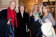 NICHOLAS PARSONS; ANNIE PARSONS; INGRID TARRANT; PENNY SMITH, Press night of Cirque du Soleil's new show 'Totem' at The Royal Albert Hall.  London. January 5, 2011<br /> <br /> -DO NOT ARCHIVE-© Copyright Photograph by Dafydd Jones. 248 Clapham Rd. London SW9 0PZ. Tel 0207 820 0771. www.dafjones.com.