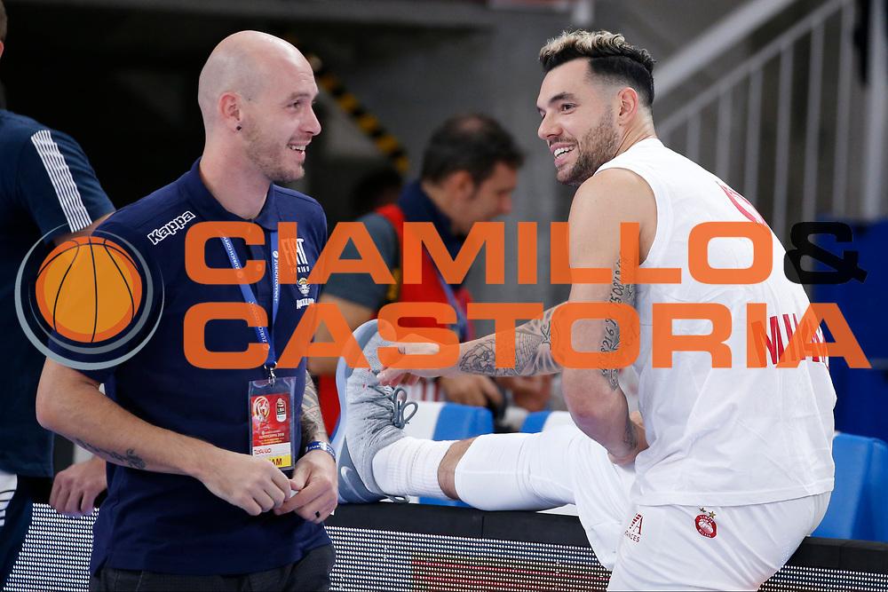 Burns Christian<br /> A|X Armani Exchange Milano - Fiat Torino<br /> Zurich Connect Supercoppa 2018-2019<br /> Lega Basket Serie A<br /> Brescia 30/09/2018<br /> Foto Ciamillo & Castoria