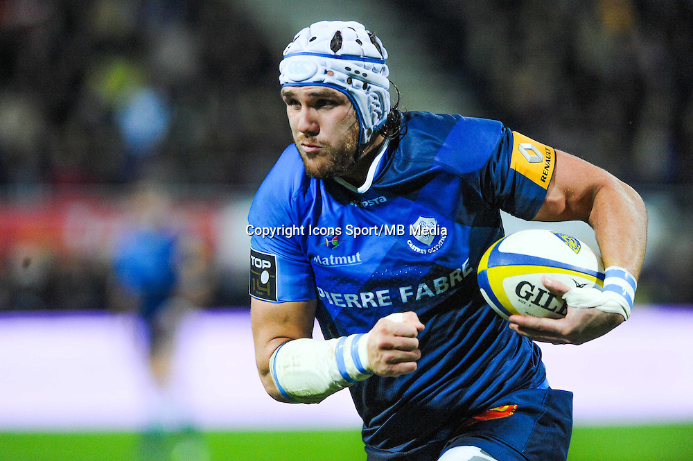 William Whetton  - 20.12.2014 - Clermont / Castres - 13eme journee de Top 14 -<br /> Photo : Jean Paul Thomas / Icon Sport