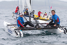 2013 Isaf Test Event  | day 1| Nacra 17