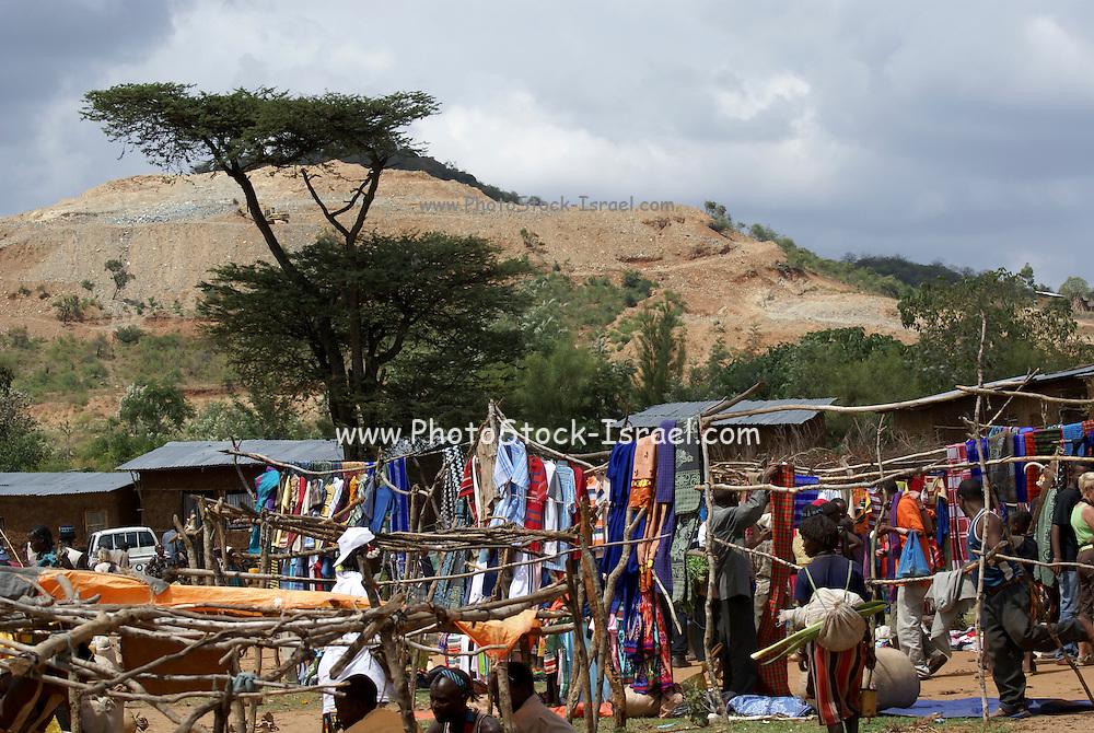 Africa, Ethiopia, Omo Valley, Banna tribe market