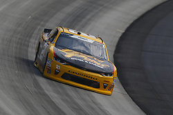 May 4, 2018 - Dover, Delaware, United States of America - Daniel Hemric (21) brings his car through the turns during practice for the OneMain Financial 200 at Dover International Speedway in Dover, Delaware. (Credit Image: © Chris Owens Asp Inc/ASP via ZUMA Wire)