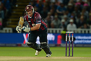 Richard Levi during the NatWest T20 Blast final match between Northants Steelbacks and Lancashire Lightning at Edgbaston, Birmingham, United Kingdom on 29 August 2015. Photo by David Vokes.