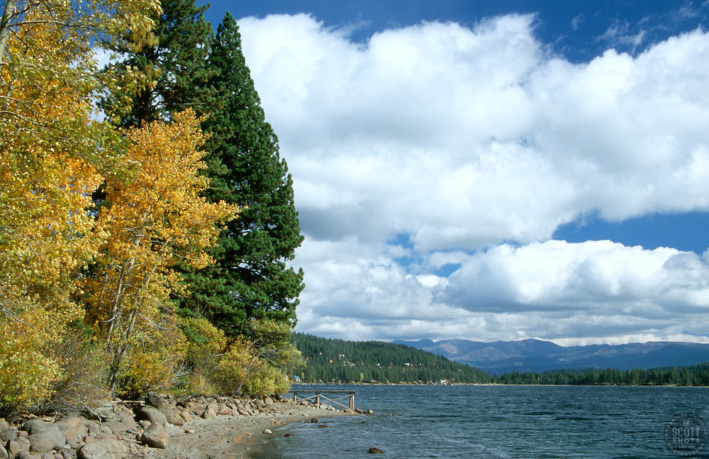 &quot;Donner Lake in Autumn 2&quot;- Photographed along the north side of Donner Lake, CA.<br />