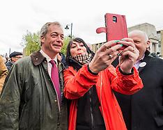 Nigel Farage UKIP Brexit Battle Bus Tour | Bolton | 25 May 2016