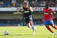 Picture by David Horn/Focus Images Ltd +44 7545 970036.08/09/2012.Kevan Hurst of Southend United and Abu Ogogo of Dagenham and Redbridge during the npower League 2 match at Roots Hall, Southend.