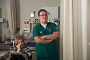 Student Mason Murray, School of Nursing, College of Health Science and Professions. Photo by Ben Siegel