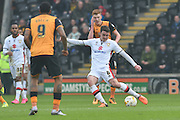 Milton Keynes Dons midfielder Darren Potter(8) during the Sky Bet Championship match between Hull City and Milton Keynes Dons at the KC Stadium, Kingston upon Hull, England on 12 March 2016. Photo by Ian Lyall.lo