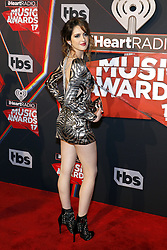 Laura Marano at the 2017 iHeartRadio Music Awards held at the Forum in Inglewood, USA on March 5, 2017.