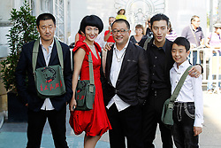 21.09.2011, Sebastian Donostia, ESP, 59. San Sebsatian Filmfestival, Zinemaldia, im Bild (From Left) Chinese actor Wang Jingchun, actress Ju Ze, director Wang Xiaoshuai, actor Quiao Renliang and  actor Liu Wenquing during the 59th San Sebastian Donostia International Film Festival - Zinemaldia.September 21,2011. EXPA Pictures © 2011, PhotoCredit: EXPA/ Alterphoto/ Acero +++++ ATTENTION - OUT OF SPAIN/(ESP) +++++