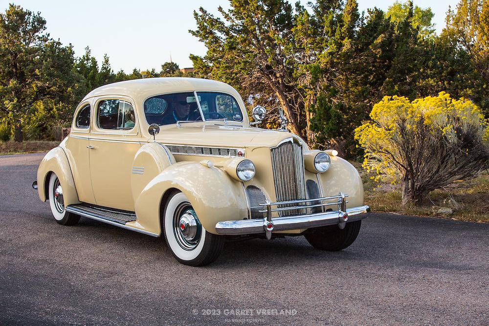 1940 Packard Super 8 160 Business Coupe, 2012 Santa Fe Concorso High Mountain Tour.