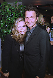 Actress MISS SHEBA RONAY and MR JOHNNY YEO at a party in London on 23rd September 1997.MBL 9