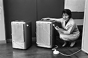 08/02/1963<br /> 02/08/1963<br /> 08 February 1963<br /> New Catalor heaters at W. &amp; L. Crowe, East Wall Road, Dublin. Gas heaters.