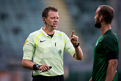 referee Allard Lindhout during the Pre-season Friendly match between ADO Den Haag and Panathinaikos at the Cars Jeans Stadium on July 28, 2018 in The Hague, The Netherlands