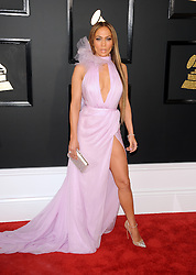 Jennifer Lopez at the 59th GRAMMY Awards held at the Staples Center in Los Angeles, USA on February 12, 2017.