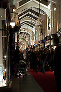 Duchess Of Cornwall Turns On The Christmas Lights At Burlington Arcade.She also met shop keepers and guests, Piccadilly. LONDON, 19 November 2009
