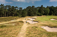 Bosch en Duin - Hole 8. Droogte op Golf Club de Pan. COPYRIGHT KOEN SUYK