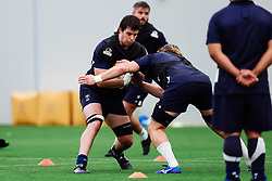 John Hawkins and Ed Holmes as Bristol Bears start to use their new almost completed Training centre - Rogan/JMP - 08/07/2020 - RUGBY UNION - Beggar Bush Lane - Bristol, England.