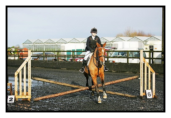 Sheepgate EC Have A Go Show. 29-11-2009.Outside clear round jumping (before 1pm)