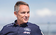 Former McLaren supremo, now Land Rover BAR CEO, Martin Whitmarsh during a media day at the newly opened BAR (Ben Ainslie Racing) HQ in Portsmouth, Hampshire. The world's most successful Olympic sailor and his team will compete to win the oldest sporting trophy, The America's Cup, in Bermuda in 2017. The first stage of the contest will be held close to the base in Portsmouth next month when competing nations converge on the city for the inaugural America's Cup World Series regatta. <br /> Picture date Wednesday 24th June, 2015.<br /> Picture by Christopher Ison. Contact +447544 044177 chris@christopherison.com
