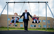 British Labour Party leader Jeremy Corbyn pushes young children whilst visiting a playground on a campaign stop in Oxford, Oxfordshire, Britain, 04 May 2017. British Prime Minister Theresa May has called a snap general election for 08 June 2017. EPA/WILL OLIVER