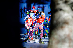 Anton Shipulin (RUS) competes during Men 12,5 km Pursuit at day 3 of IBU Biathlon World Cup 2015/16 Pokljuka, on December 19, 2015 in Rudno polje, Pokljuka, Slovenia. Photo by Ziga Zupan / Sportida