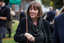 "London, UK. 25 September, 2019. Jess Phillips, Labour MP for Birmingham Yardley, is interviewed on College Green on the day after the Supreme Court ruled that the Prime Minister's decision to suspend parliament was ""unlawful, void and of no effect"". Credit: Mark Kerrison/Alamy Live News"